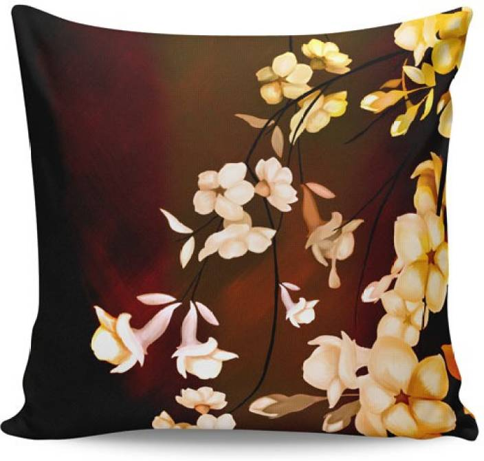 PosterGuy Floral Cushions Cover