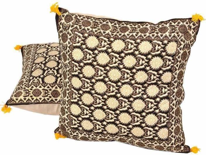 Shree Sai Checkered Cushions Cover