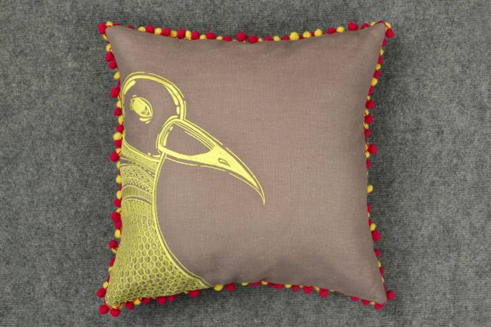 Bombay Mill Embroidered Cushions Cover