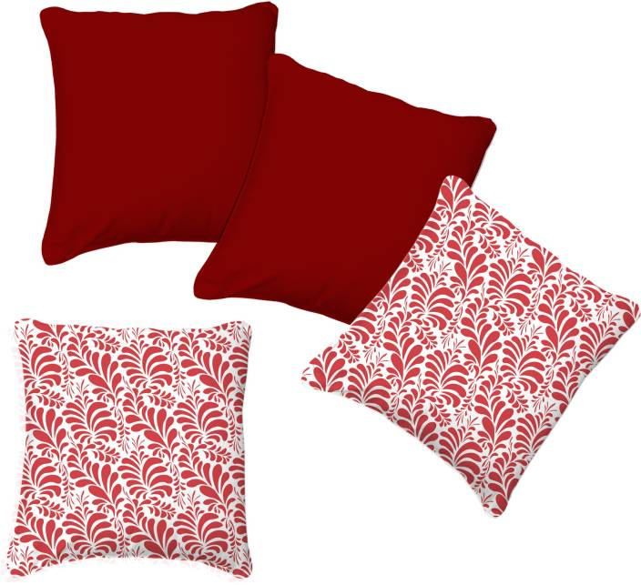 Smart Home Textile Floral Cushions Cover