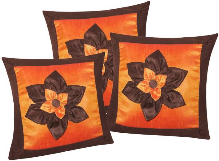 Zikrak Exim Floral Cushions Cover