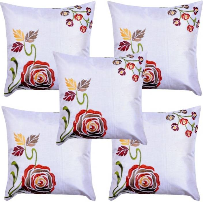 Hometexbazar Embroidered Cushions Cover