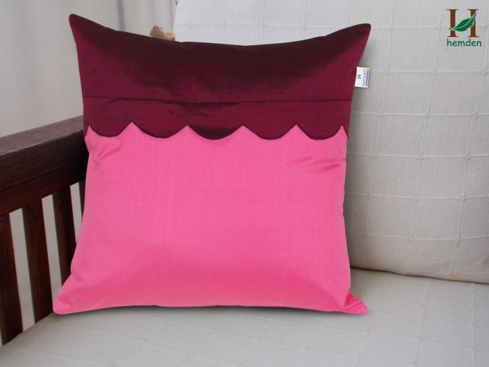 Hemden Self Design Cushions Cover
