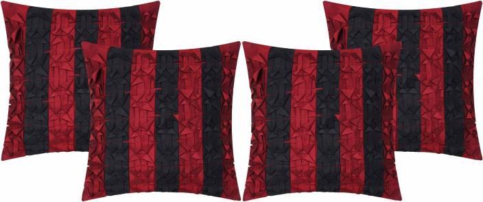 Vivora Homes Striped Cushions Cover