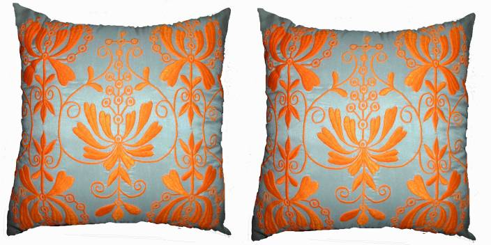Moonleaf Embroidered Cushions Cover