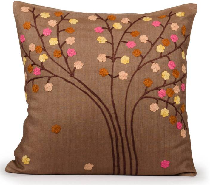 Indian August Embroidered Cushions Cover
