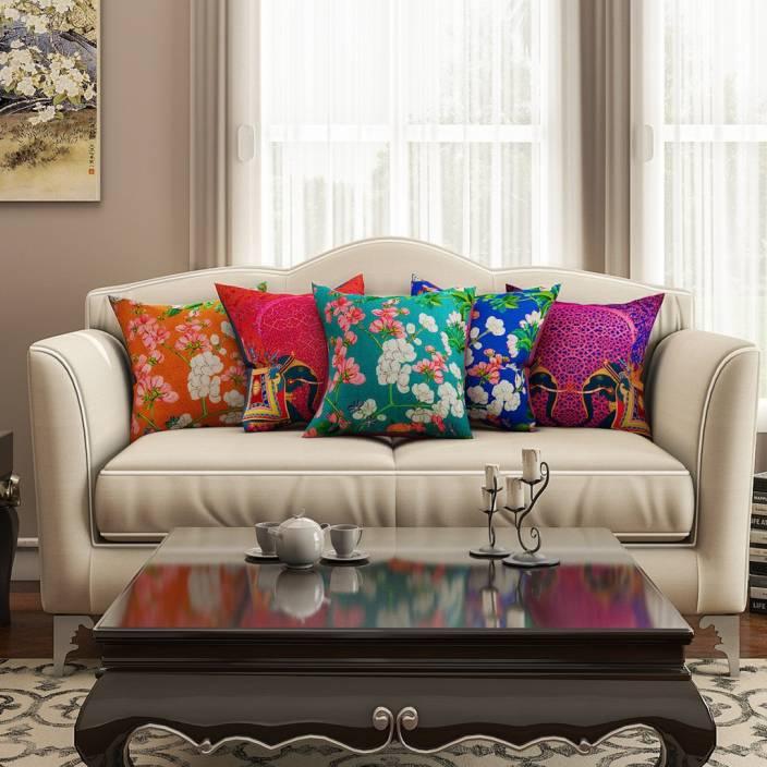 SEJ by Nisha Gupta Printed Cushions Cover Buy SEJ by Nisha Gupta