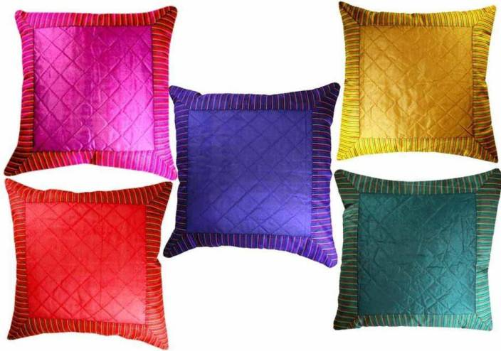 BELIVE-ME Plain Cushions Cover