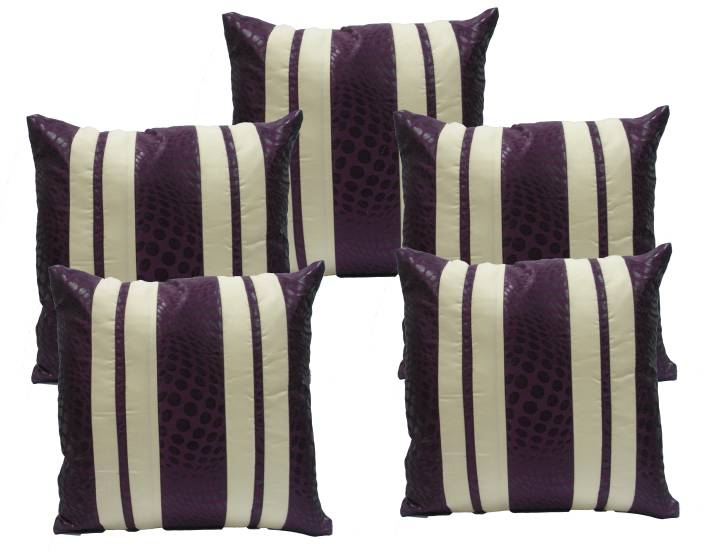 Ambbi Collections Striped Cushions Cover