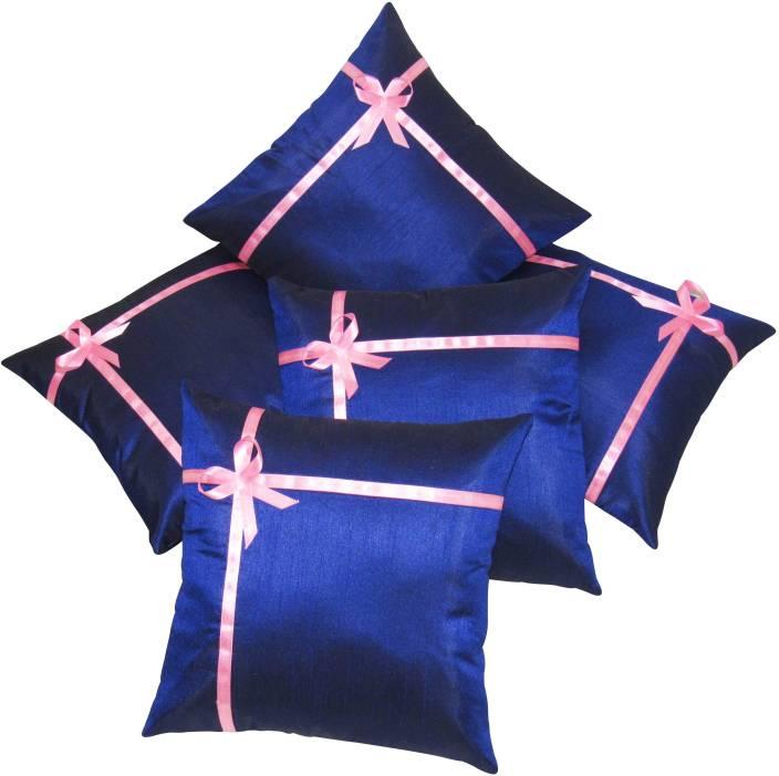 Zikrak Exim Plain Cushions Cover