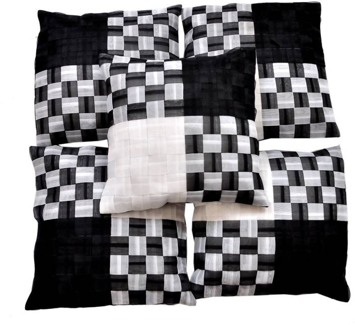 Sofitouch Checkered Cushions Cover