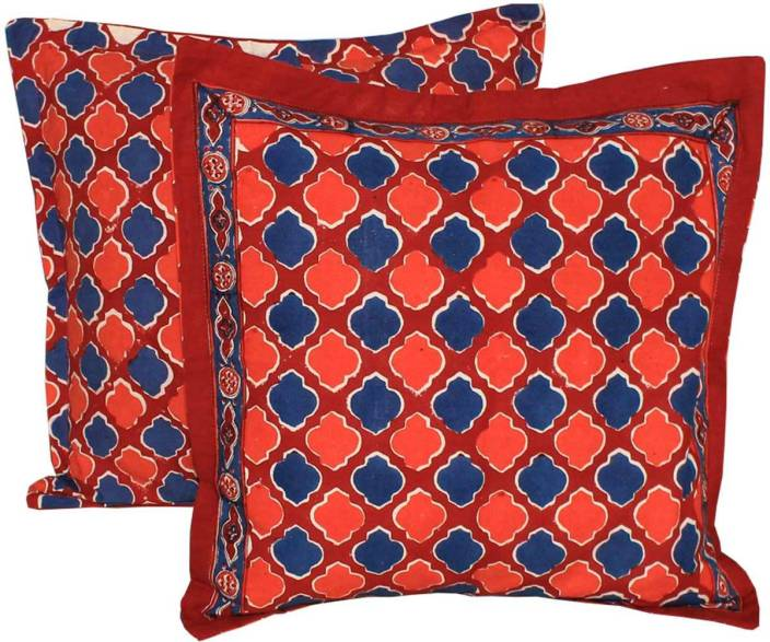 Chhipaprints Floral Cushions Cover