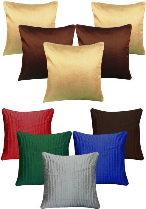Decor Bazaar Plain Cushions Cover