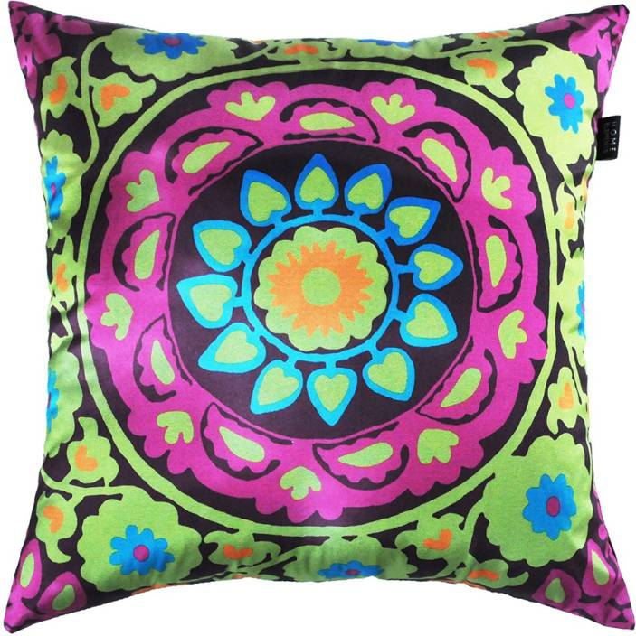The Home Elements Floral Cushions Cover