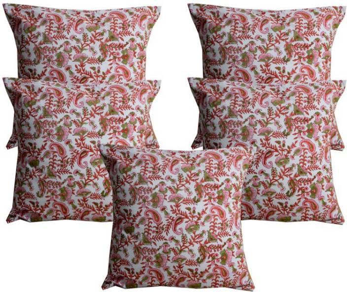 Ocean Homestore Floral Cushions Cover
