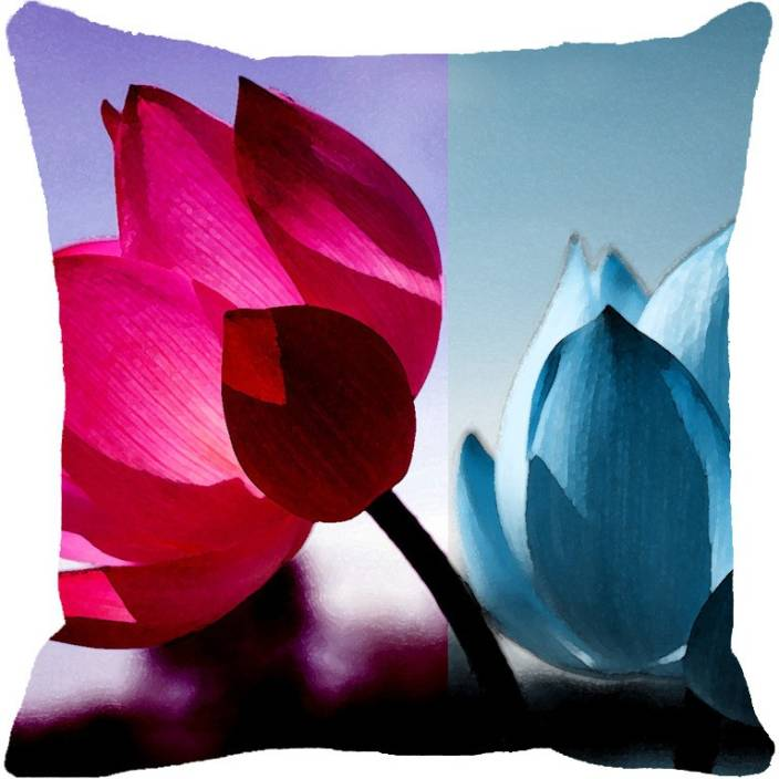 Leaf Designs Floral Cushions Cover