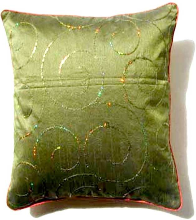 Homeblendz Embroidered Cushions Cover