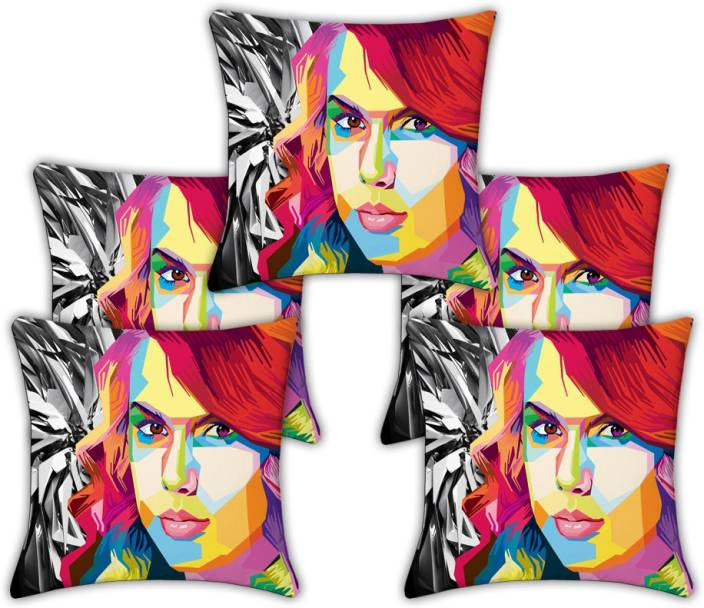 Saluja Enterprises Abstract Cushions Cover