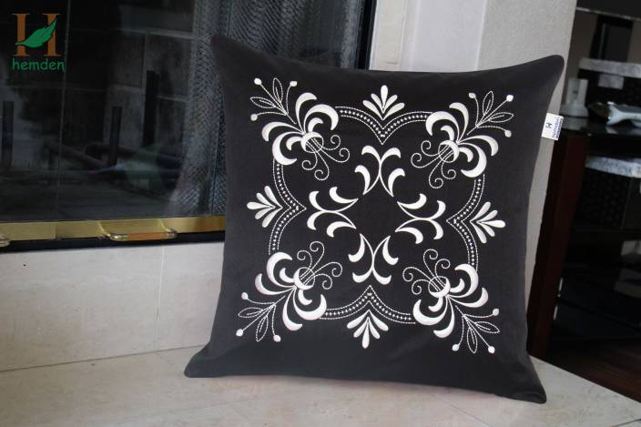 Hemden Embroidered Cushions Cover