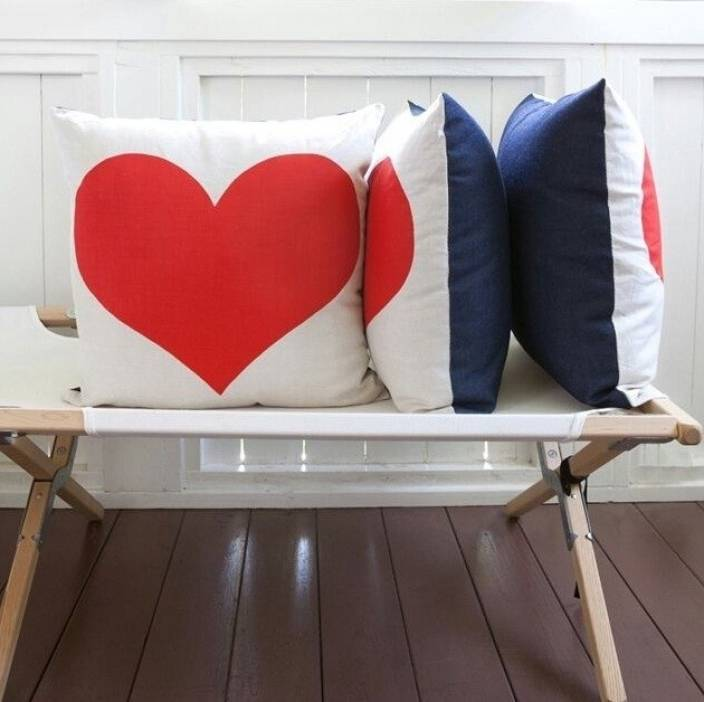 Saugat Traders Self Design Cushions Cover