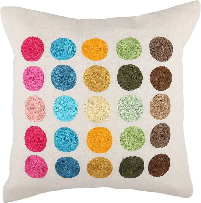 Nikunj Embroidered Cushions Cover