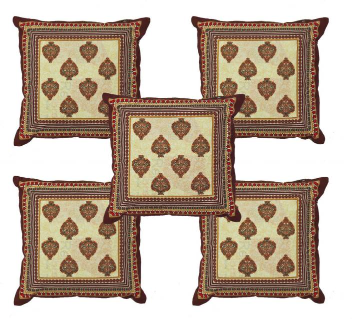 Kalakriti Creations Damask Cushions Cover