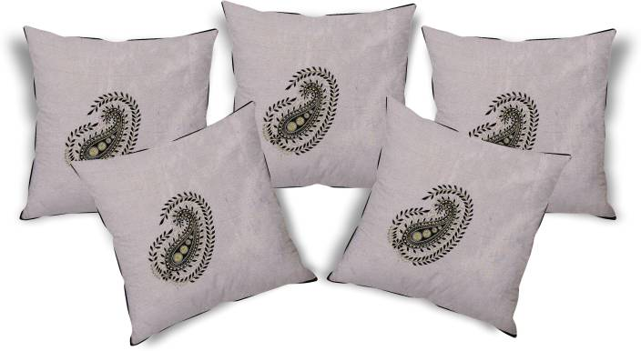 The Home Story Embroidered Cushions Cover