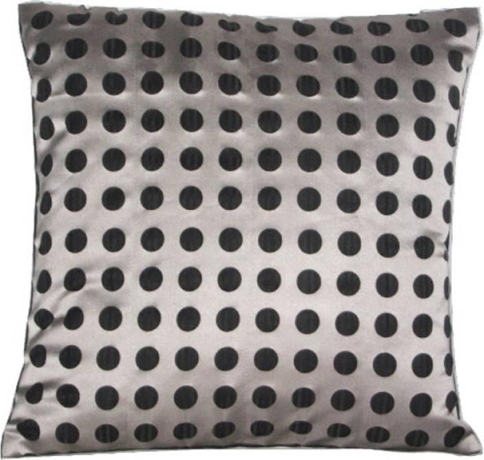 Sayansh Creations 1 Polka Cushions Cover