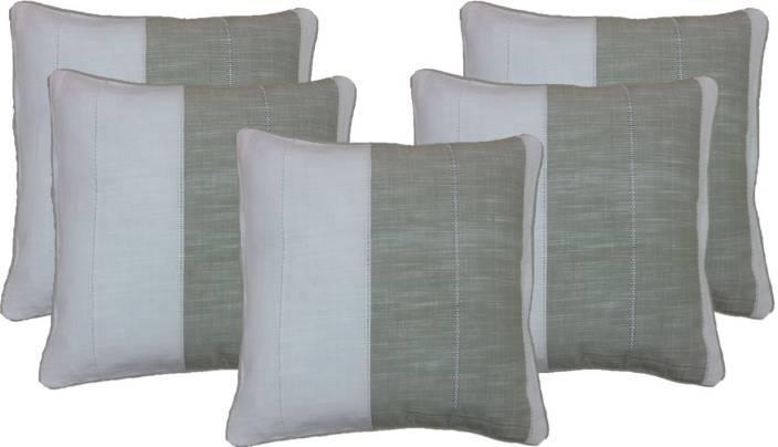 Zentass Self Design Cushions Cover