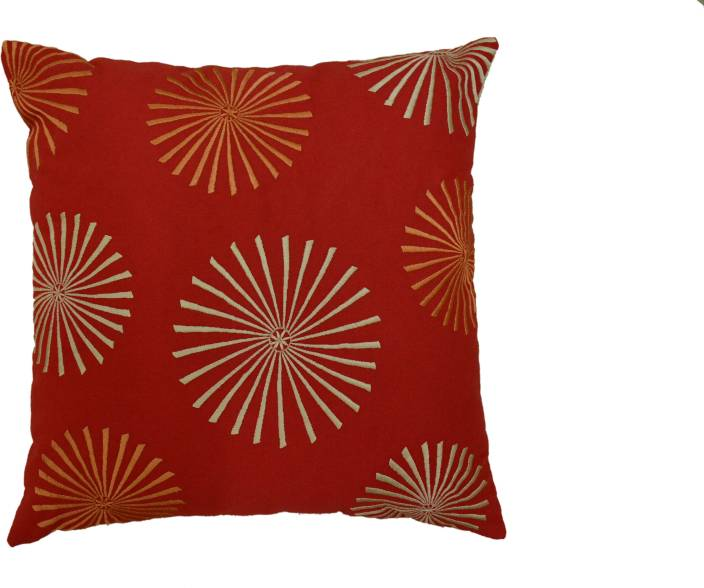 Aadyahome Embroidered Cushions Cover