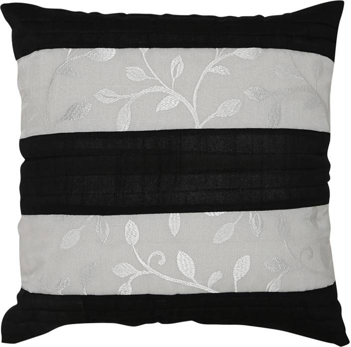 Color Threads Floral Pillows Cover