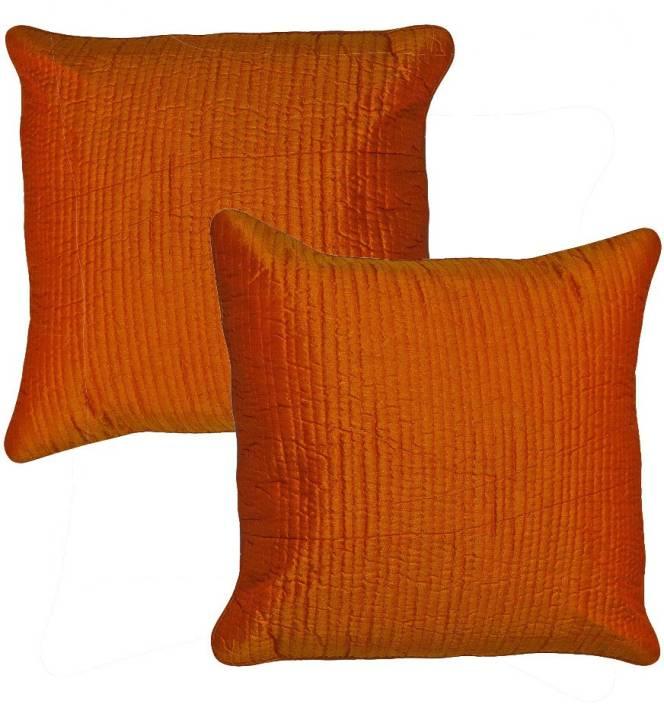 Kalakriti Creations Striped Cushions Cover