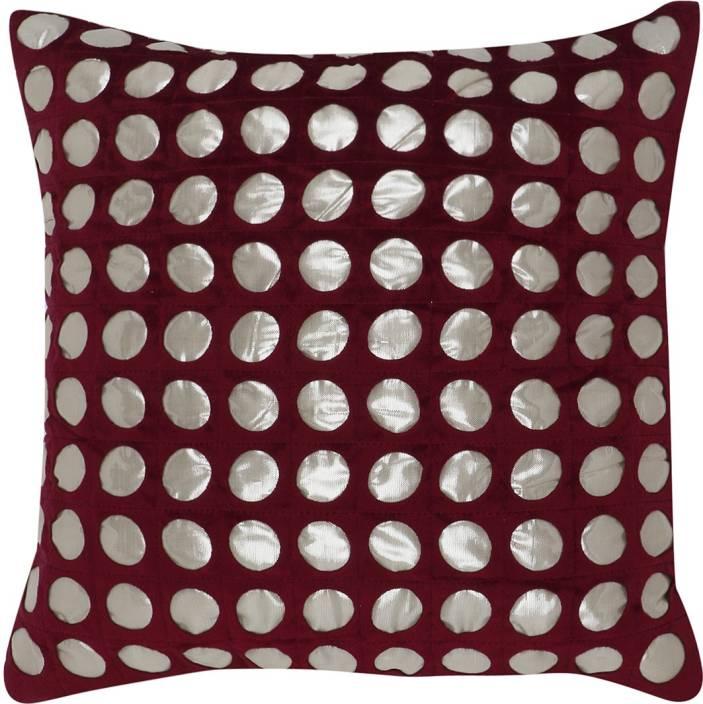 Kirmanihandicrafts Self Design Cushions Cover