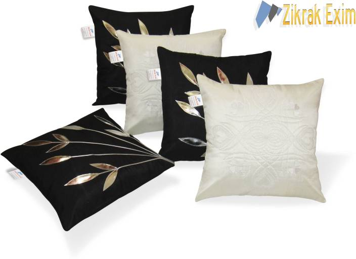 Zikrak Exim Floral Cushions Cover
