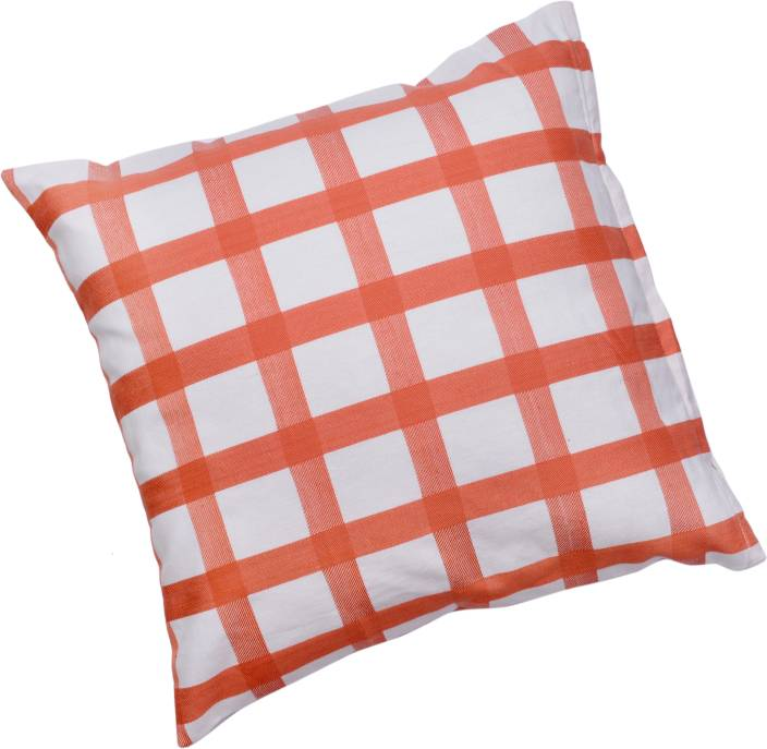 Waves Textiles Checkered Cushions Cover