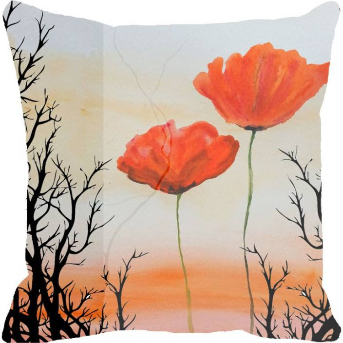 Leaf Designs Abstract Cushions Cover