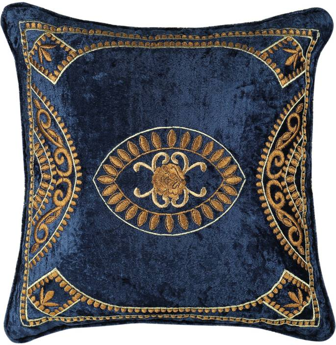 House Of Lotus Embroidered Cushions Cover