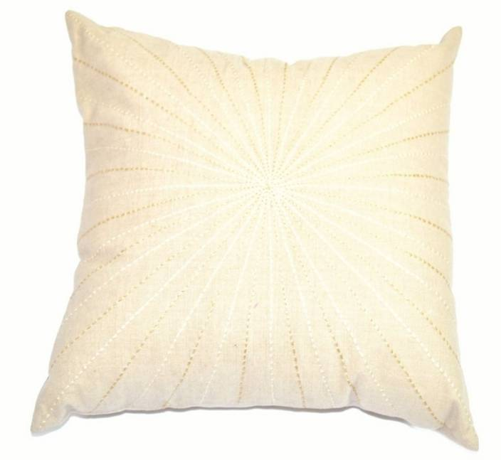 Visionz Self Design Cushions Cover