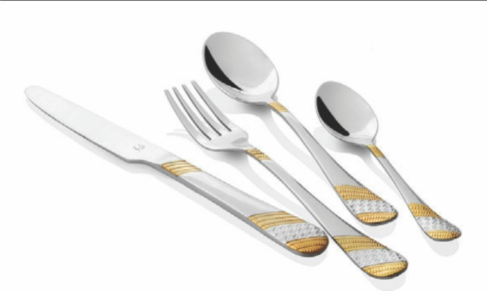 FnS Imperio Gold Plated Steel Cutlery Set  sc 1 st  Flipkart & FnS Imperio Gold Plated Steel Cutlery Set Price in India - Buy FnS ...