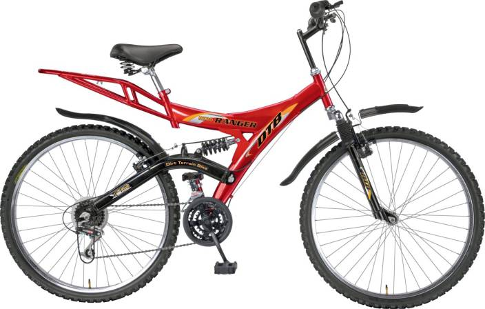 Hero Ranger 6 Speed Dtb Vx 26T 26 T 6 Speed Mountain Cycle