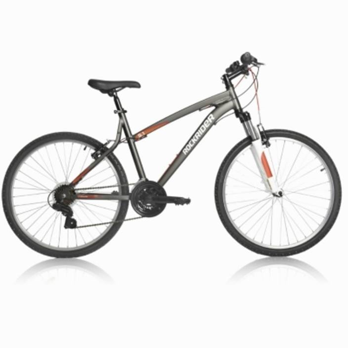 3074012c11f Btwin by Decathlon Rockrider 5.1 12 24 T Mountain/Hardtail Cycle (24 Gear,  Brown)