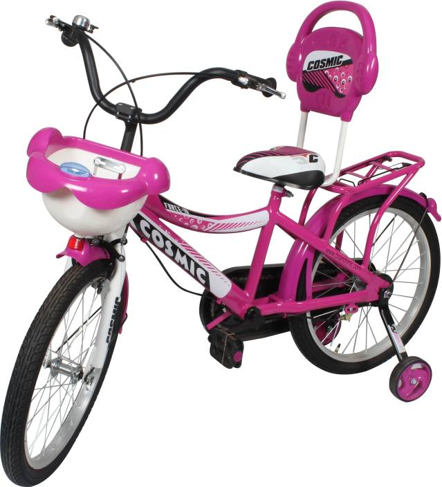 Cosmic 20 Inch Force 10 Kids Bicycle Pink 20 T Recreation Cycle