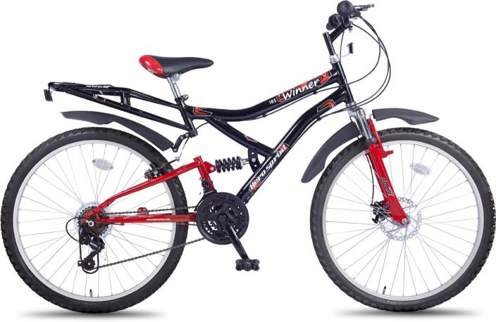 69b0ca7b902 Hero Sprint 26T Winner 18 Speed 26 T Mountain Cycle Price in India ...