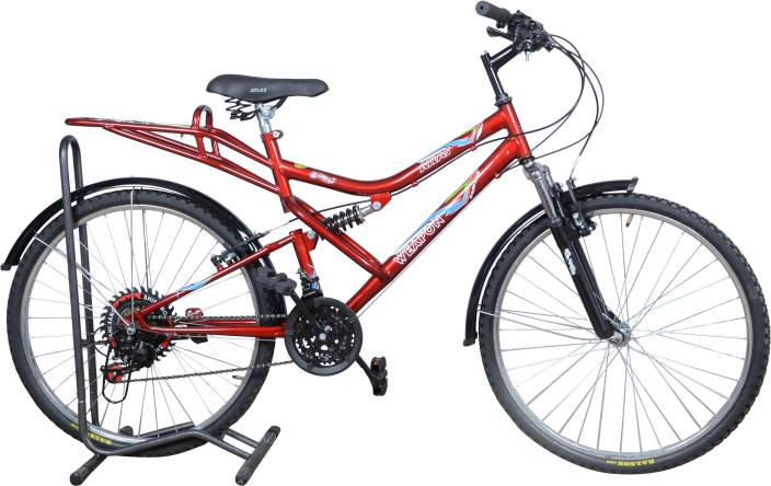 Atlas Weapon DS 26T 18 Speed 26 T 21 Gear Mountain Cycle