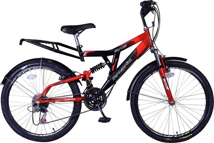 Hero Blade 26 T 18 Gear Mountain Cycle  (Red, Black)