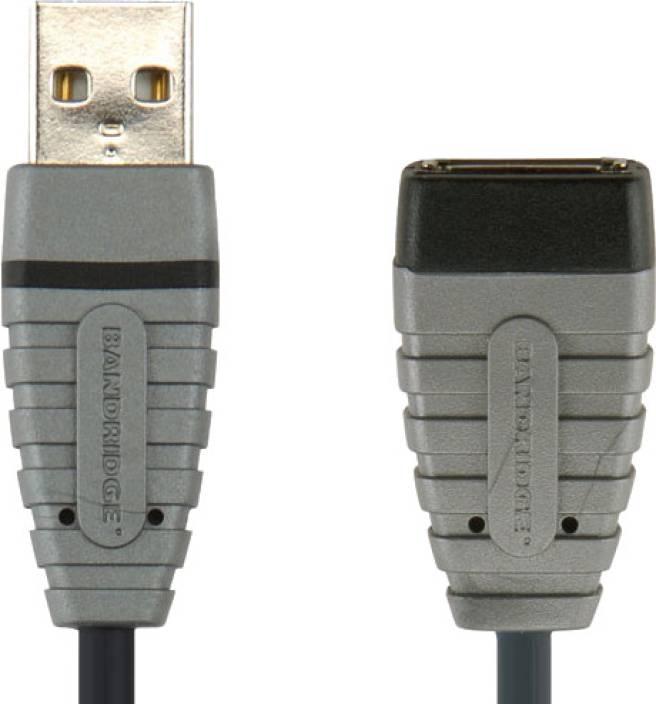Bandridge BCL4302 Blue USB Extension Cable USB-A M - USB-A F 2 m USB Cable