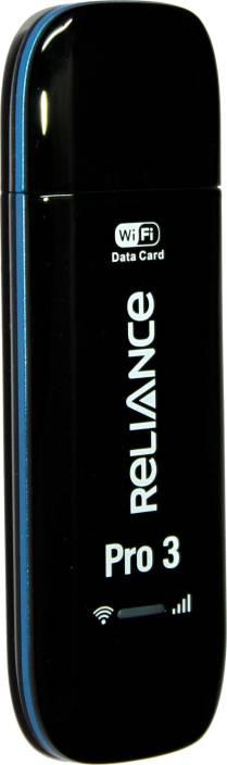 Reliance Pro 3 Data Card