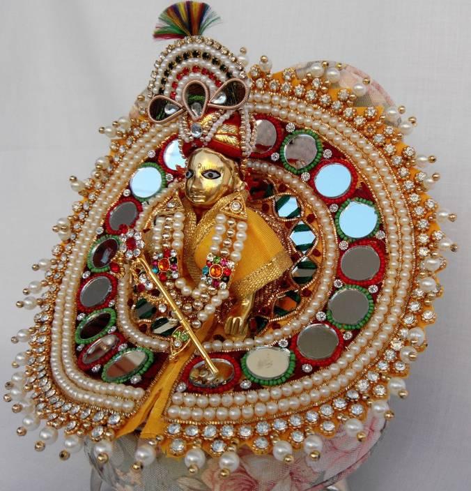Mahashringar Laddu Gopal (size3) Dress Price in India