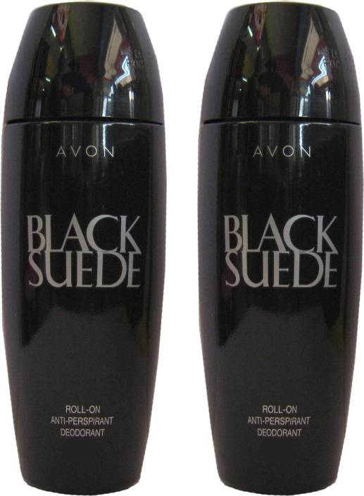 cbdfabb83bb6e3 Avon Black Suede Classic Rod Combo Pack (40g Each) Deodorant Roll-on - For  Men (80 g)