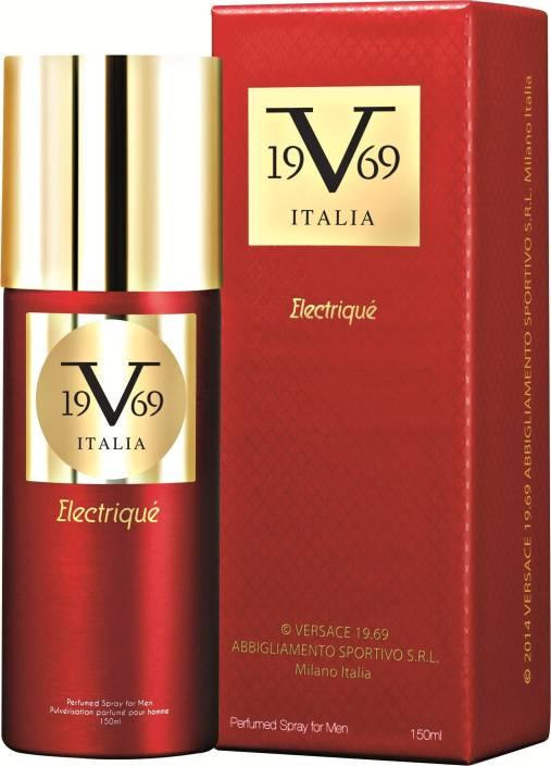 V 19.69 Italia Electrique Deodorant Spray  -  For Men